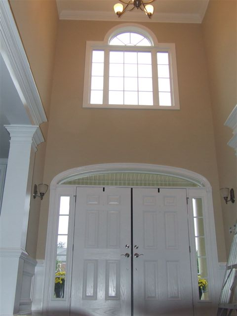Convert Two Story Foyer To Bedroom : Two sisters painting before after photos